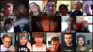 """""""March Onward To Your Nightmare"""" Song By DAGames Reaction Mashup"""