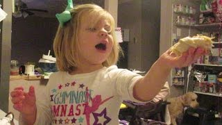 Cooking With Mommy! Easy Crescent Chicken! │2•19•15 Daily Vlog