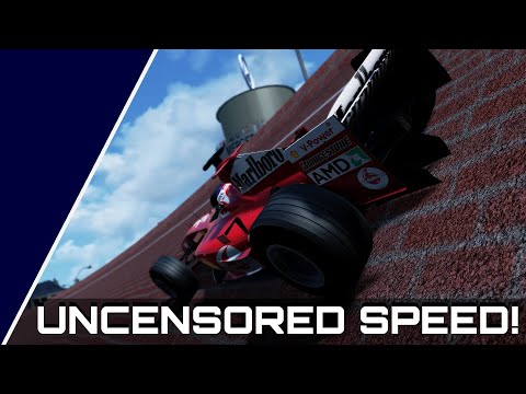F1 ON THE AUTOBAHN! The Story of AVUS and Ferrari F2004 Top Speed Runs in Assetto Corsa  