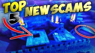*5 NEW SCAMS* INSANE NEW Scam Methods YOU DONT KNOW ABOUT! Avoid These SCAMS Fortnite Save The World