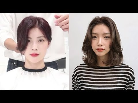 10 Beautiful Korean Bang Cutting 2019 How To Cut Bangs Hair Beauty Youtube