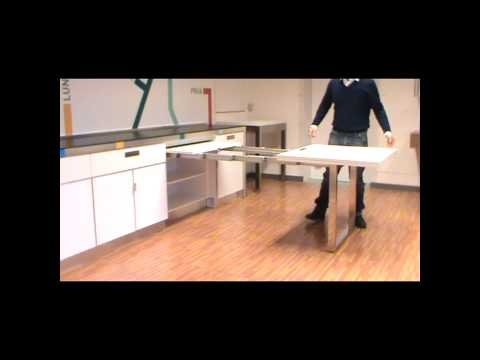Pull Out Kitchen Table atim dinner - pull out drawer table - youtube