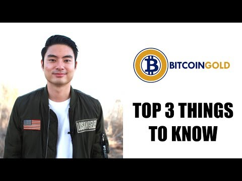 Bitcoin Gold: Top 3 Things To Know