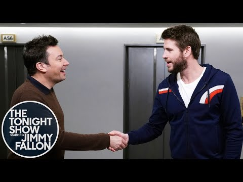Lisa Foxx - Liam Hemsworth & Jimmy Fallon Mistake Each Other For Different People