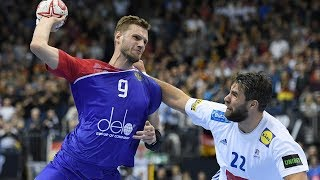 HANDBALL FRANCE - RUSSIA. IHF World Men's Championship 2019