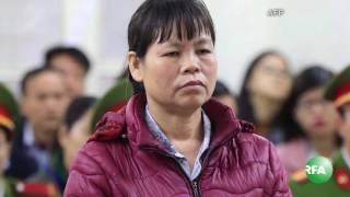 Dân oan Cấn Thị Thêu bị xử y án tù