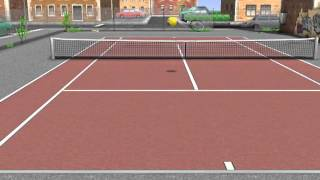 iPhone+iPadアプリ> ゲーム> ヒットテニス3