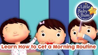 Learn How to Get a Morning Routine | Learn With LBB | Little Baby Bum