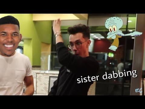 james charles dancing & dabbing to different songs thumbnail