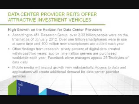 Data Center Provider REITs Offer Attractive Investment Vehicles