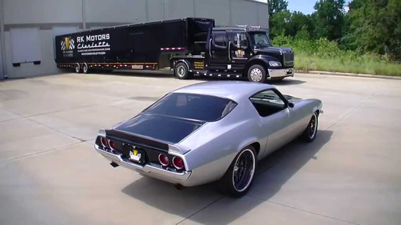 134741 1971 Chevrolet Camaro Ss Youtube