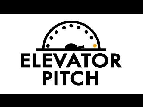 Elevator Pitch Competition - YouTube