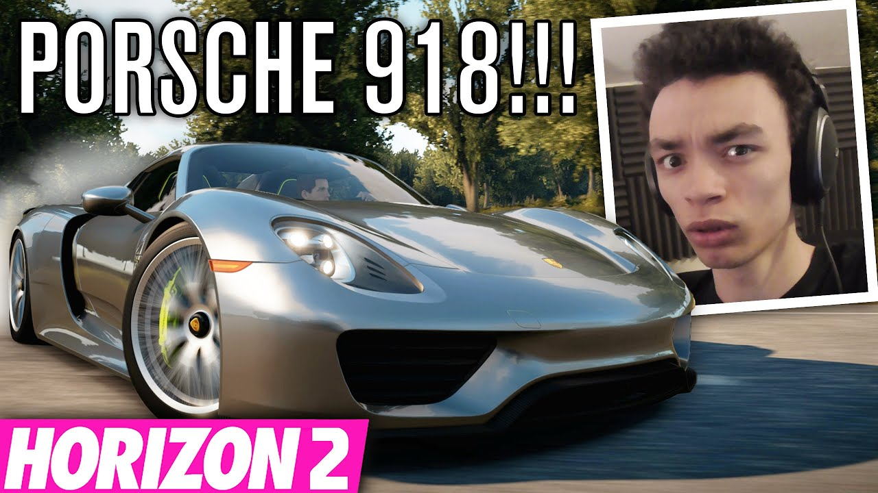 insane porsche 918 spyder build forza horizon 2 youtube. Black Bedroom Furniture Sets. Home Design Ideas