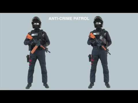 rapid deployment troops  2017  singapore police force special operations command