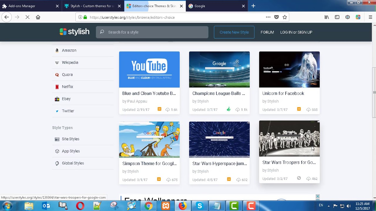 How To Change Backgrounds In Mozilla Firefox 57 Youtube