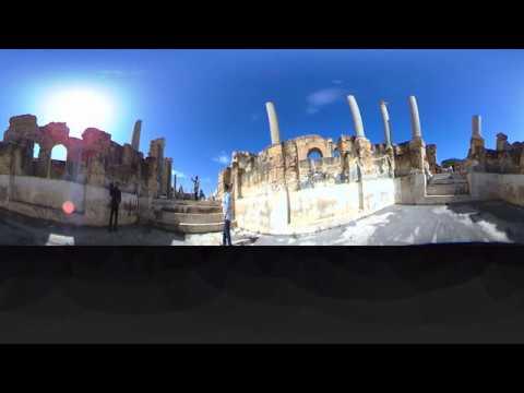 Discover Libya - Leptis Magna in 360 - Part 1