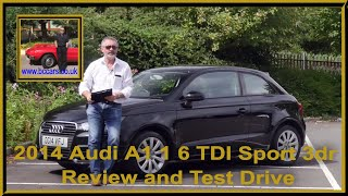 Review and Virtual Video Test Drive In Our 2014 Audi A1 1 6 TDI Sport 3dr DG14VFJ