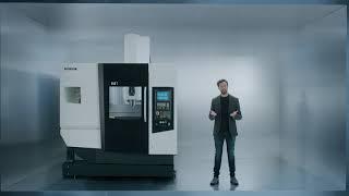 M1 Milling Machine Compact Design - DMG MORI