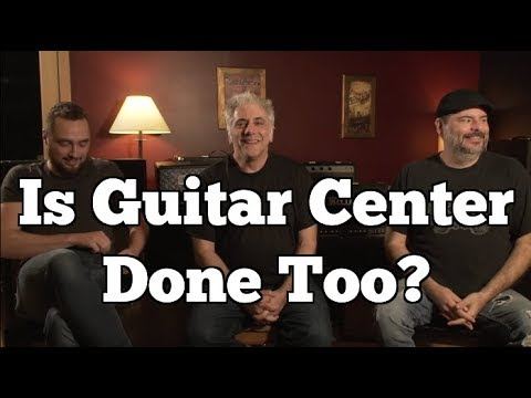 Guitar Center and the End of Big Box Retail