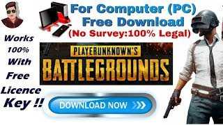 pubg free download without key