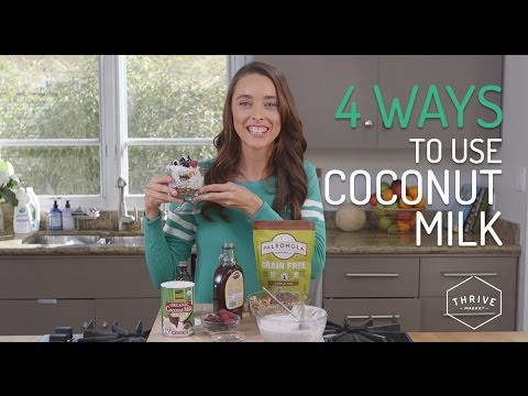 COCONUT MILK Uses + Recipes | Thrive Market