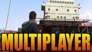 Grand Theft Auto V - Multiplayer Gameplay! (GTA Online Game Play Introduction / Basics)