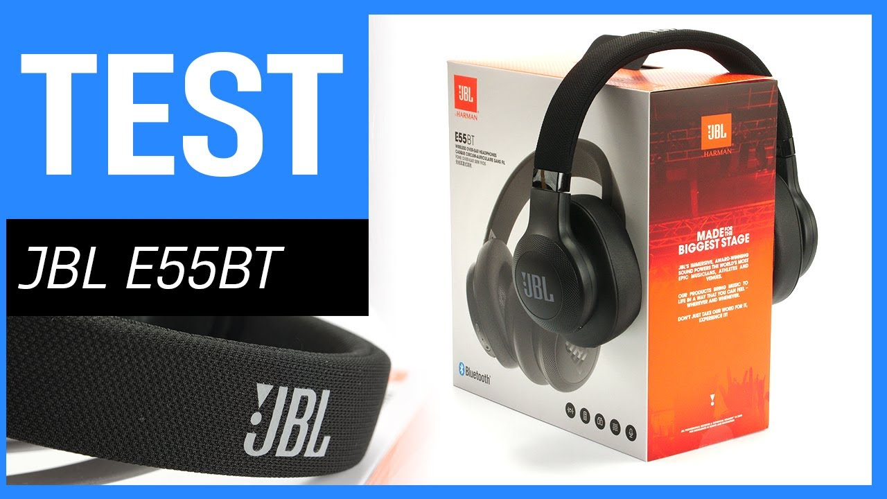 jbl e55bt bluetooth kopfh rer im test auch kabel. Black Bedroom Furniture Sets. Home Design Ideas