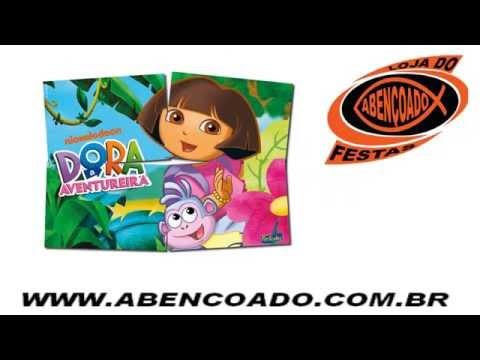 Видео Dora aventureira artigos para festa