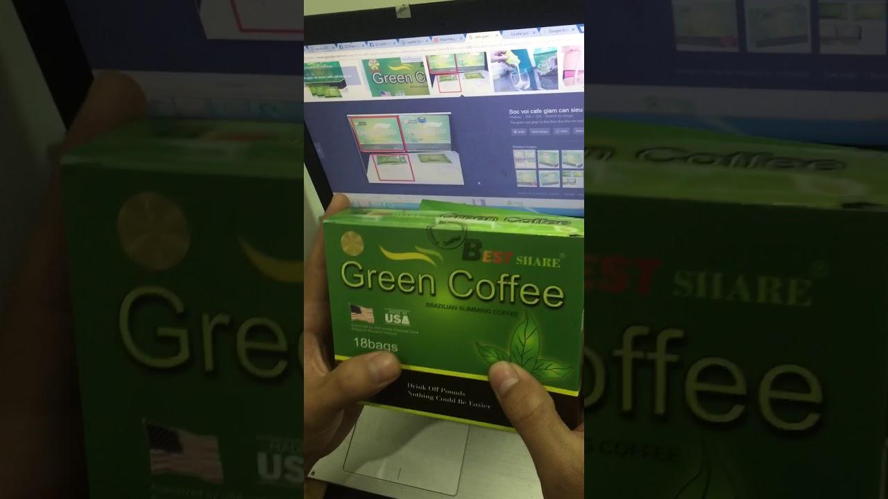 Phân biệt cà phê giảm cân  thật và giả  Green Coffee, phan biet coffee that va gia