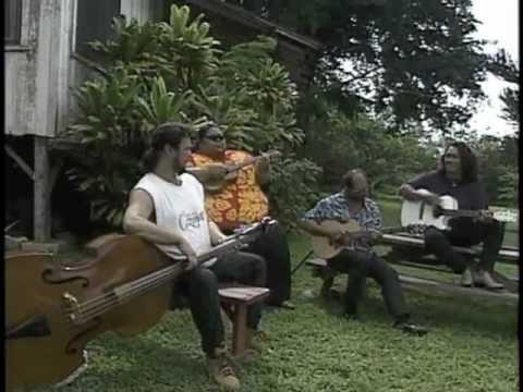 """""""Waimanalo Blues"""" Henry Kapono, Israel Kamakawiwoʻole, Cyril Pahinui, Roland Cazimero"""