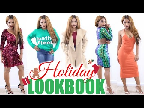 431c824f56f Boohoo Holiday Party Try-On Haul - YouTube