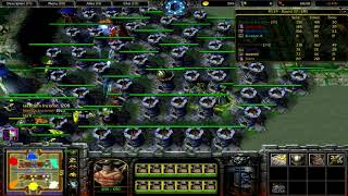 Warcraft 3 | Tropical Tower Wars 5.50 | TTW | Golemancer | Lane Maze