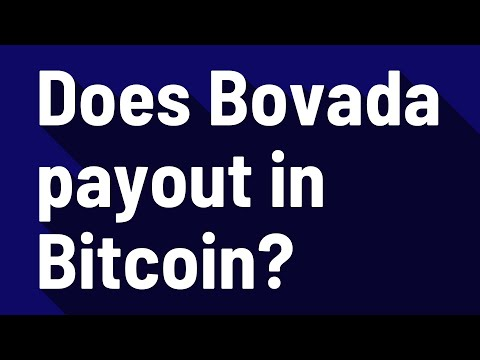 Does Bovada Payout In Bitcoin?