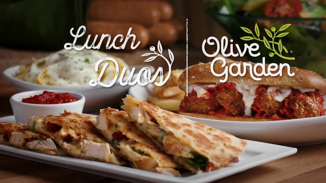 Lunch Duos at Olive Garden - YouTube