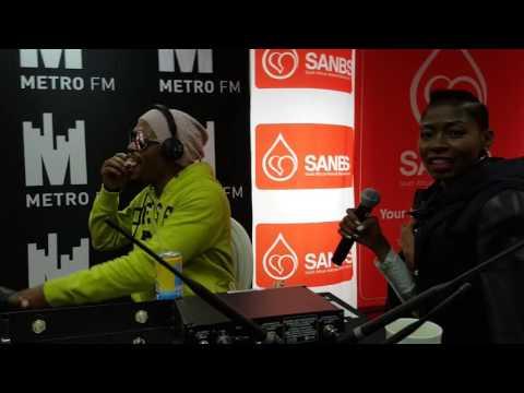 Somizi talks the importance of blood...