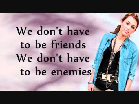 Miley Cyrus-Two More Lonely People Lyrics