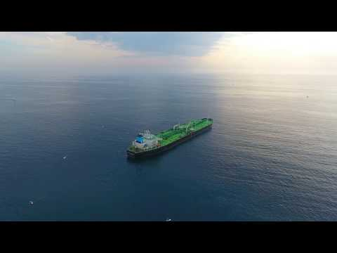 Maran Cassiopeia Oil Tanker at  El Segundo Beach, Ca