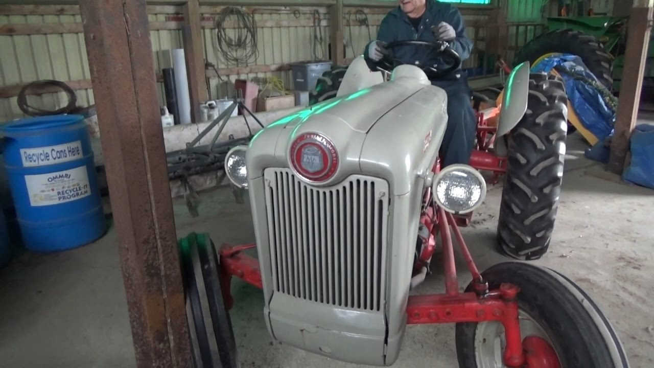 1953 Ford Golden Jubilee The Other Tractor Youtube