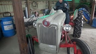 1953 Ford Golden Jubilee....The other tractor