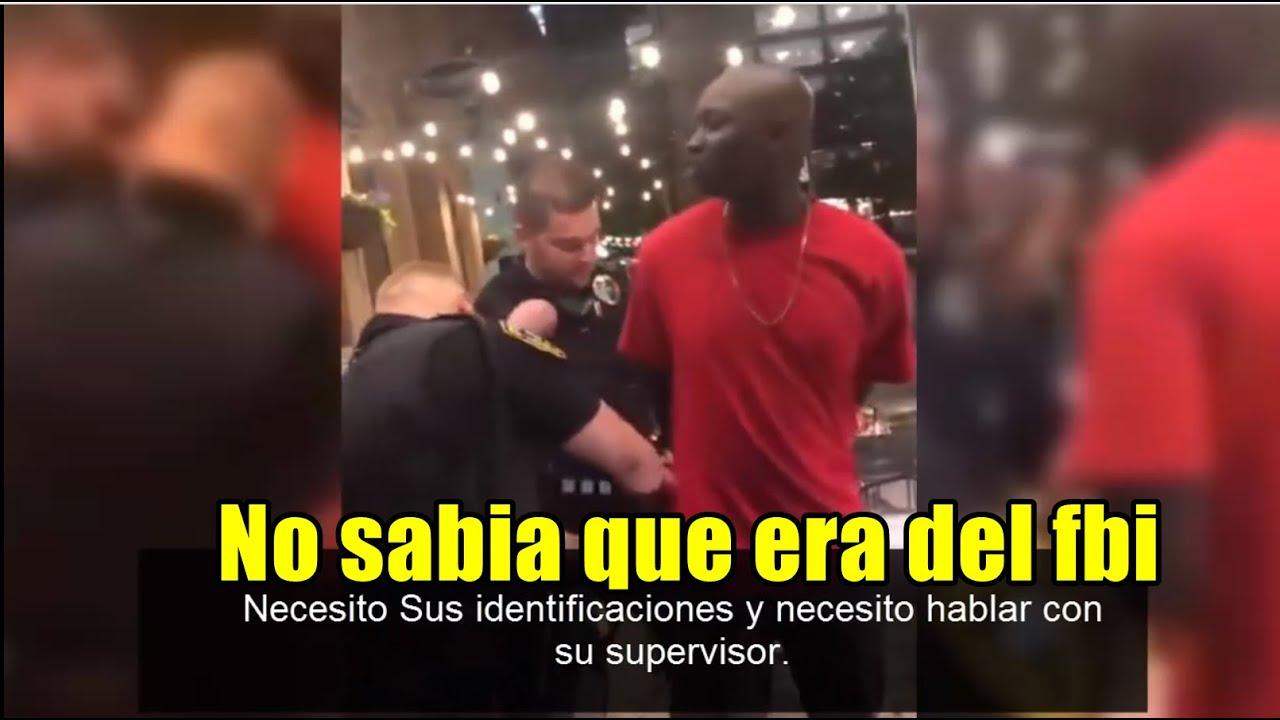 POLICIAS Arrestan Sin Razón A Afroamericano y Resulto Ser Agente Del FBI!  Subtitulado Al Español.
