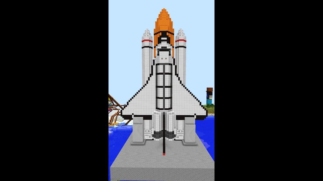 как построить в майнкрафте мини ракету в ютубе #5
