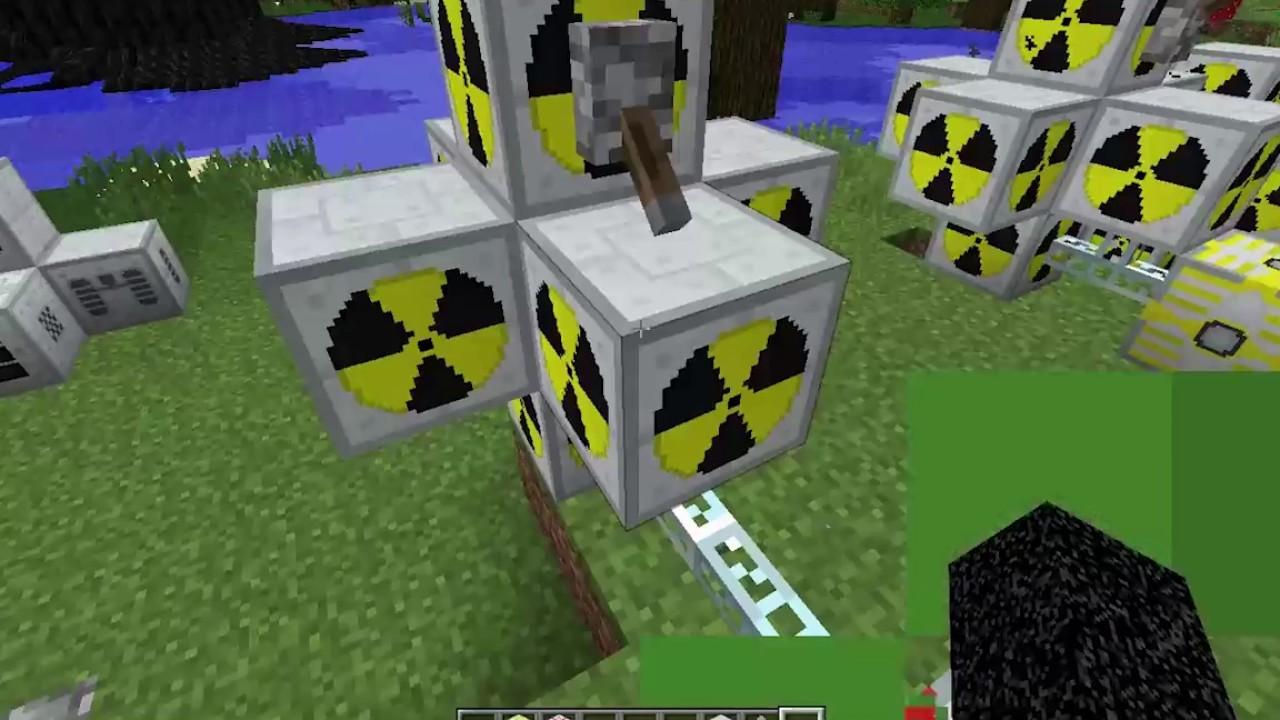 как построить ядерный реактор в майнкрафт factorization пе #11