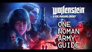 Wolfenstein Youngblood One Woman Army Guide (Kraftwerk/Hammer Weapon Ammo Resupply)