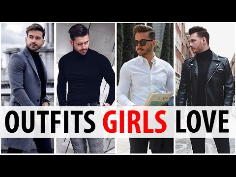 4 Outfits Men Wear That Women Love | What Girls Want Guys To Wear | Alex Costa & Jake Daniels