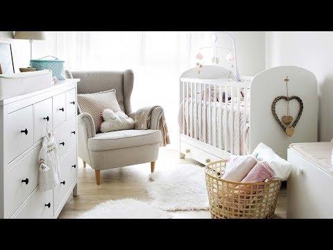 Un luminosos cuarto para el bebé con cuna. Curso de Decoración | MICASA
