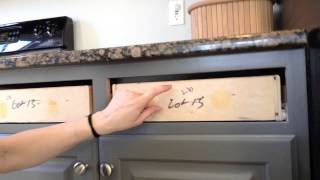 How to Paint Kitchen Cabinets: Step 13 Reassemble Cabinets
