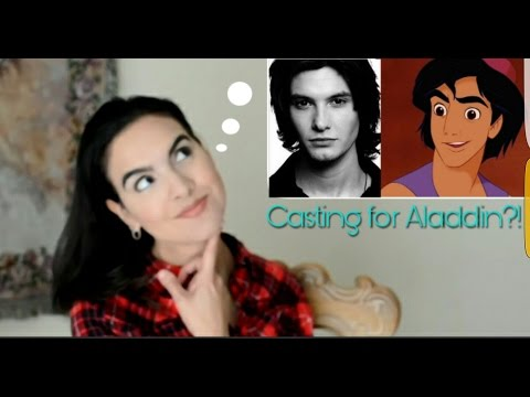Aladdin Role Casting for Live Action Film: Ideas!