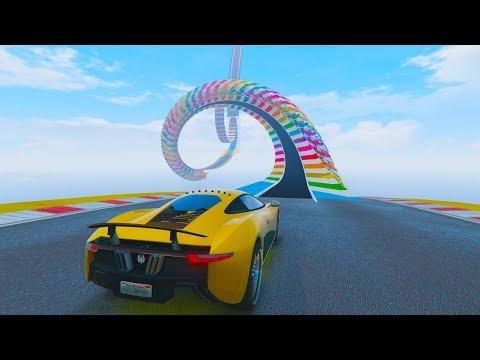 ACROBACIA EXTREMA! - CARRERA GTA V ONLINE - GTA 5 ONLINE