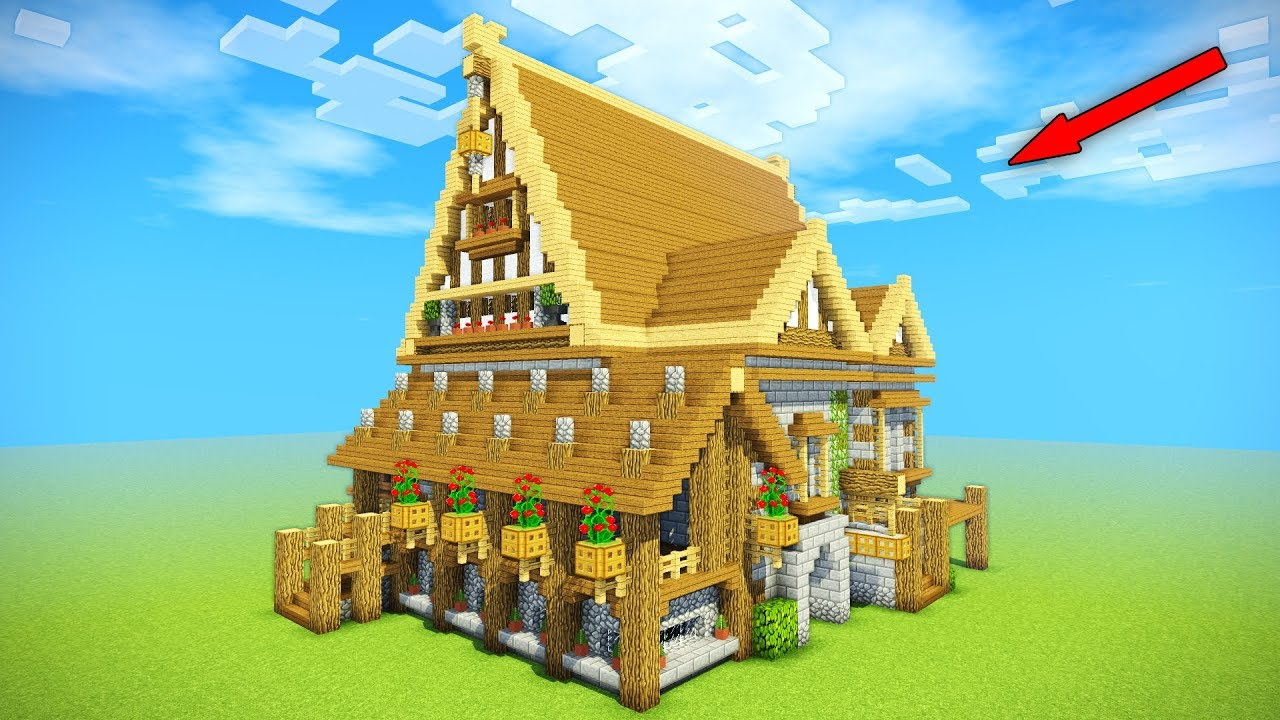 Minecraft Tutorial  Epic Medieval House Tutorial