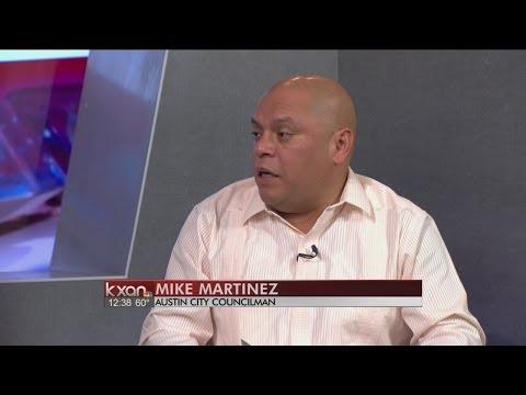 Austin City Councilman Mike Martinez Speaks About Crash